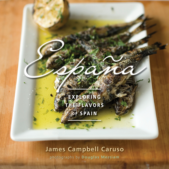 Espana - Exploring the Flavors of Spain - cover