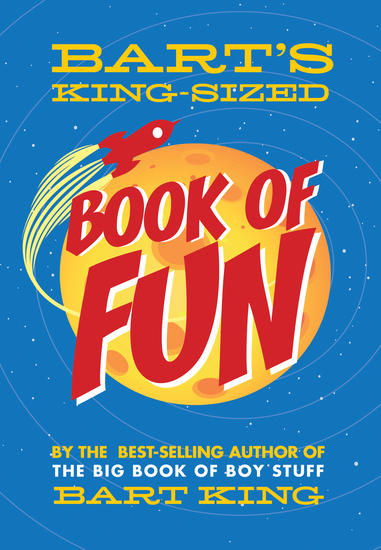 Bart's King-Sized Book of Fun - cover