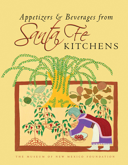 Appetizers and Beverages from Santa Fe Kitchens - cover