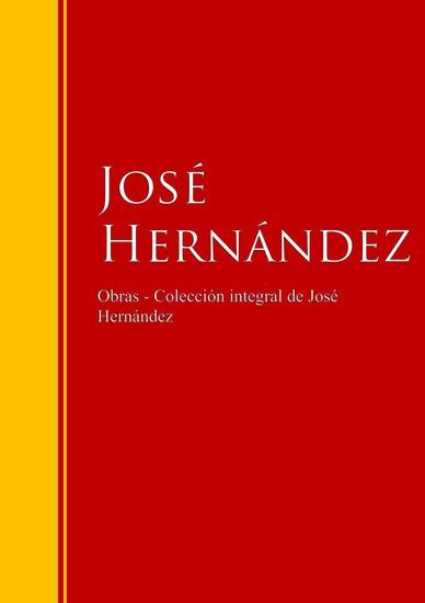 Obras de José Hernández - cover