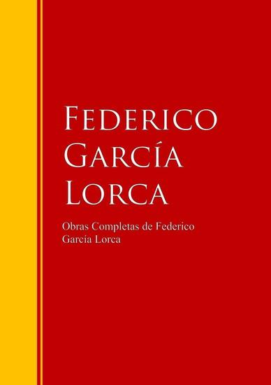 Obras Completas de Federico García Lorca - cover