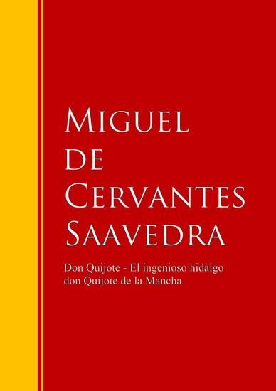 Don Quijote - El ingenioso hidalgo don Quijote de la Mancha - Don Quijote de la Mancha - cover