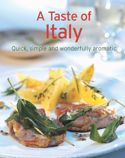 A Taste of Italy - Our 100 top recipes presented in one cookbook - cover