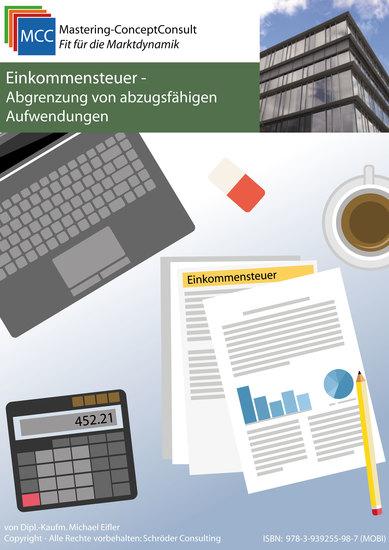 Einkommensteuer - Abgrenzung von abzugsfähigen Aufwendungen - cover