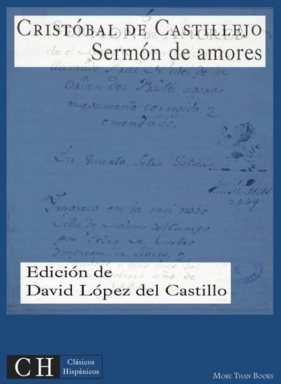 Sermón de amores - cover