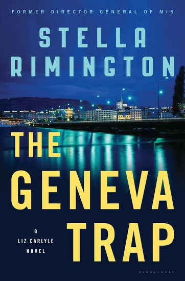 The Geneva Trap - A Liz Carlyle novel - cover