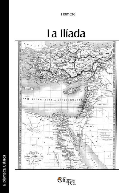 La Ilíada - cover