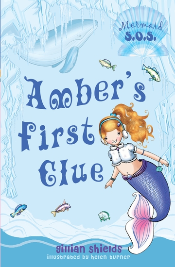Amber's First Clue - Mermaid SOS - cover