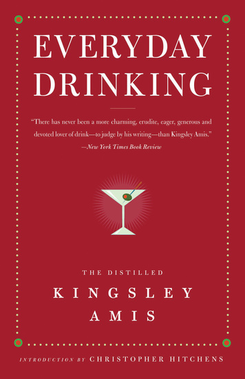 Everyday Drinking - The Distilled Kingsley Amis - cover