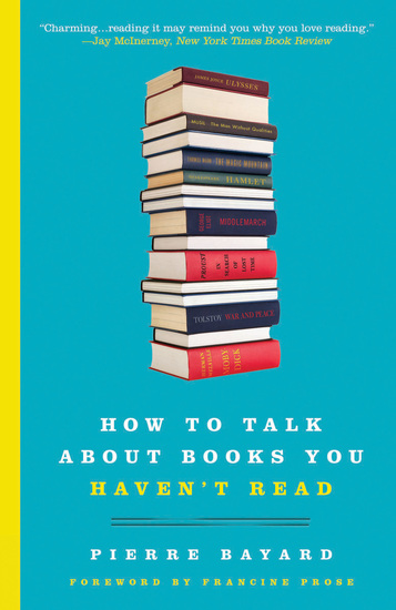 How to Talk About Books You Haven't Read - cover