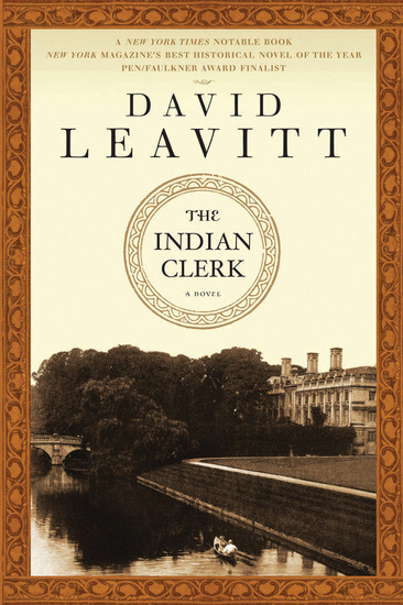 The Indian Clerk - A Novel - cover