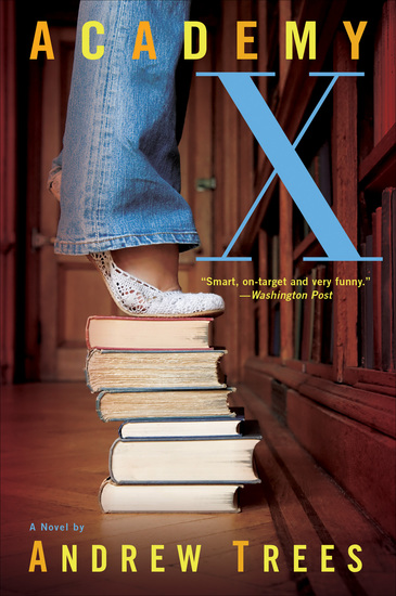 Academy X - A Novel - cover