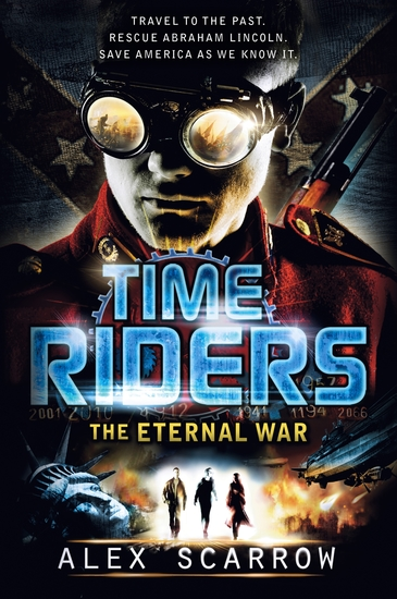 TimeRiders: The Eternal War - cover