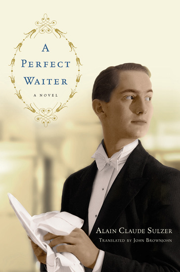 A Perfect Waiter - A Novel - cover