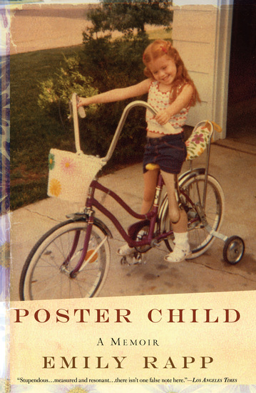 Poster Child - A Memoir - cover