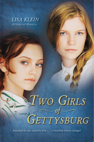 Two Girls of Gettysburg - cover