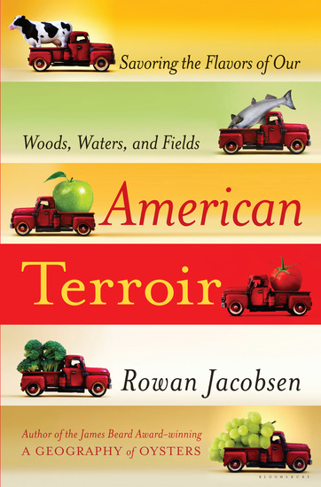 American Terroir - Savoring the Flavors of Our Woods Waters and Fields - cover