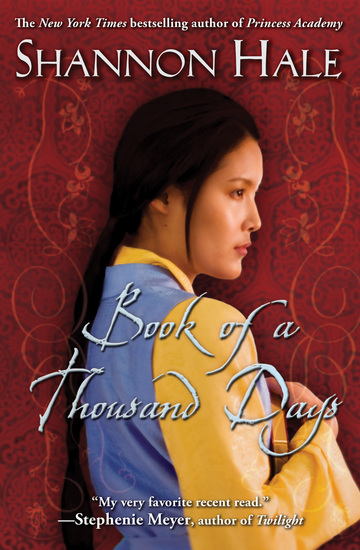 Book of a Thousand Days - cover