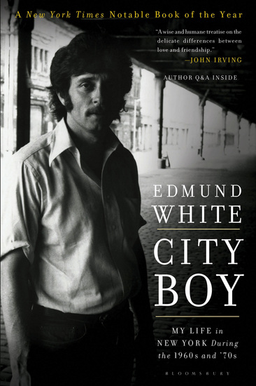 City Boy - My Life in New York During the 1960s and '70s - cover