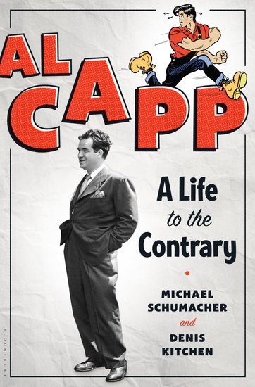 Al Capp - A Life to the Contrary - cover