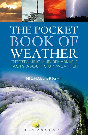 The Pocket Book of Weather - Entertaining and Remarkable Facts About Our Weather - cover