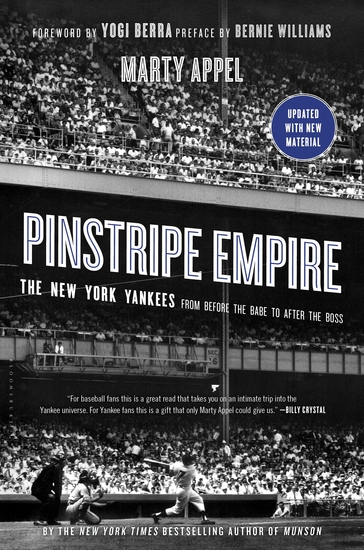 Pinstripe Empire - The New York Yankees from Before the Babe to After the Boss - cover