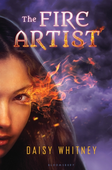 The Fire Artist - cover