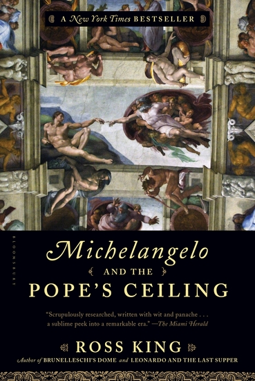 Michelangelo and the Pope's Ceiling - cover