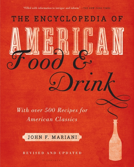 Encyclopedia of American Food and Drink - cover