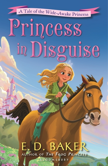Princess in Disguise - A Tale of the Wide-Awake Princess - cover