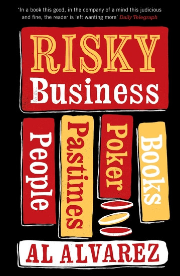 Risky Business - People Pastimes Poker and Books - cover
