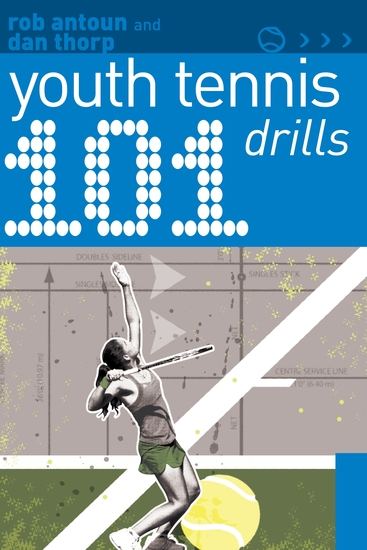 101 Youth Tennis Drills - cover