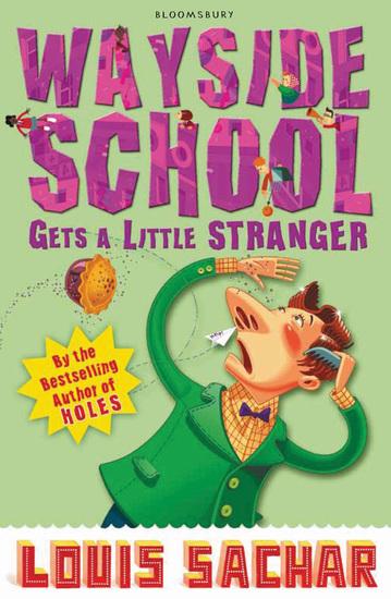 Wayside School Gets A Little Stranger - cover