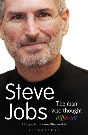 Steve Jobs The Man Who Thought Different - cover