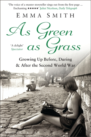 As Green as Grass - Growing Up Before During & After the Second World War - cover