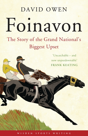 Foinavon - The Story of the Grand National's Biggest Upset - cover