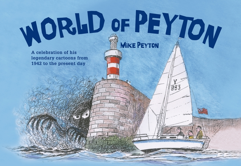 World of Peyton - A Celebration of his Legendary Cartoons from 1942 to the Present Day - cover