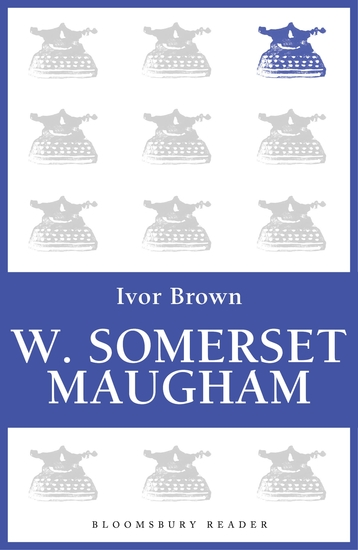 W Somerset Maugham - cover