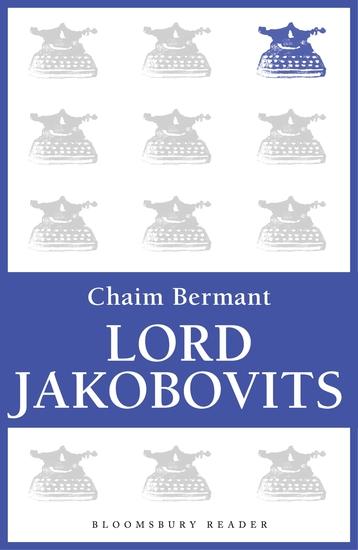 Lord Jakobovits - cover