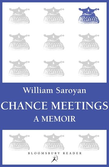 Chance Meetings - A Memoir - cover