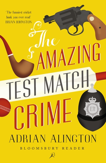 The Amazing Test Match Crime - cover