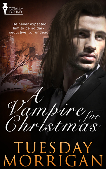 A Vampire For Christmas - cover
