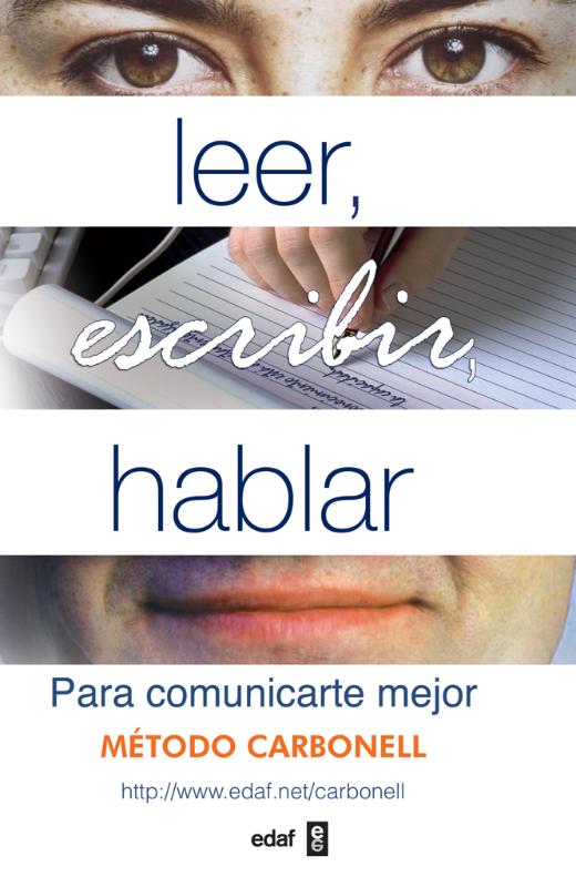 Leer, escribir, hablar - cover
