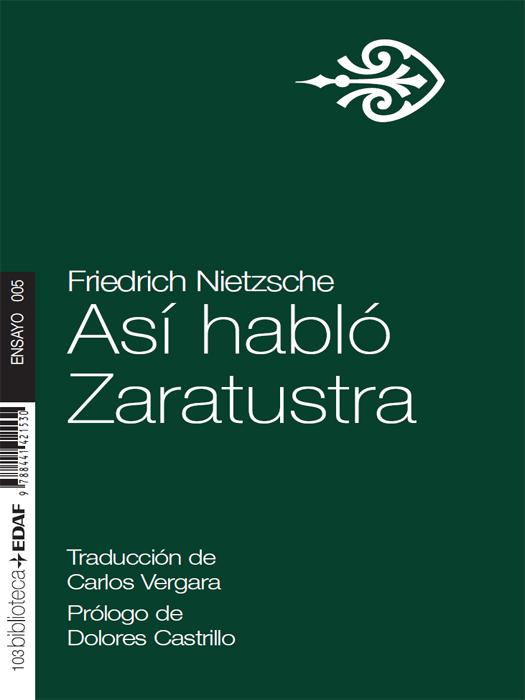 Así habló Zaratustra - cover
