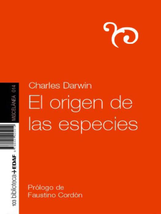 El origen de las especies - cover