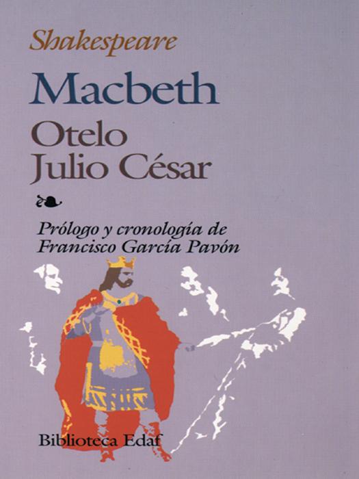 Macbeth · Otelo · Julio César - cover
