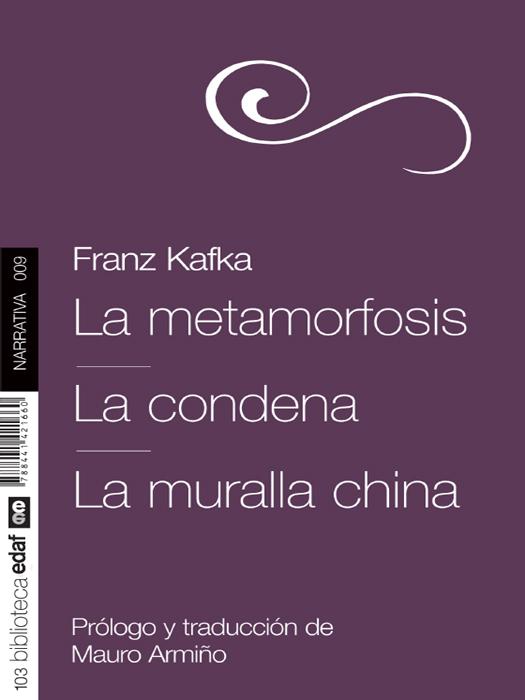 La Metamorfosis - cover