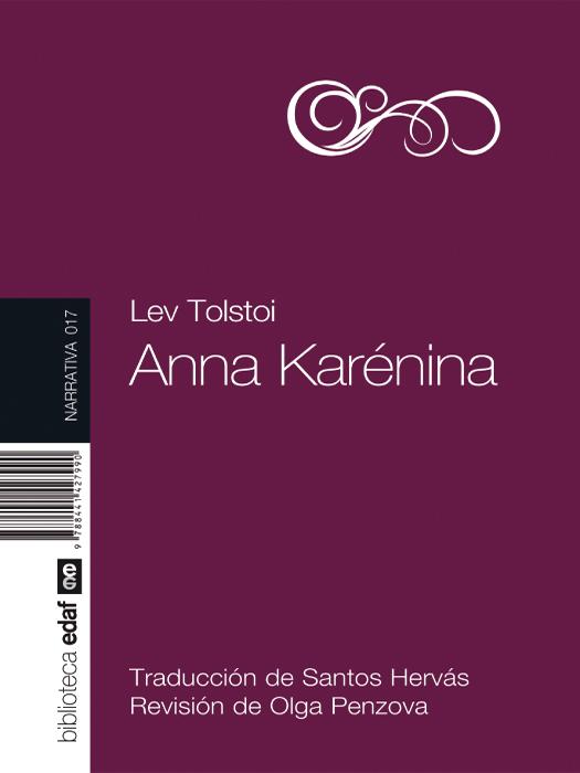 Anna Karénina - cover