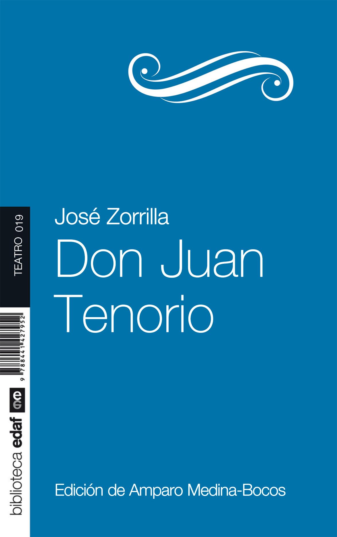 Don Juan Tenorio - cover