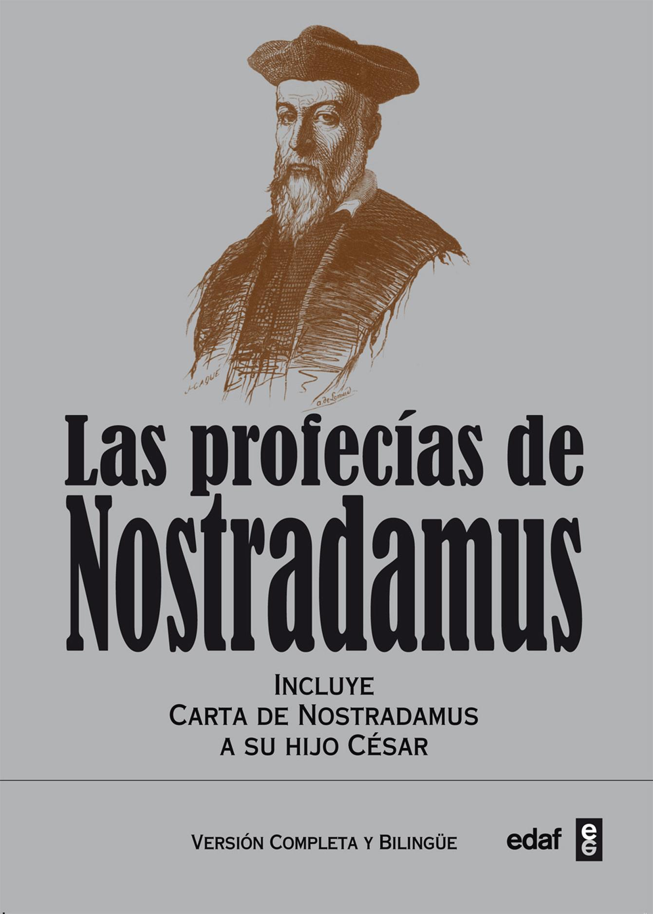 Las profecías de Nostradamus - cover